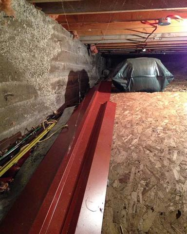 Crawl Space Encapsulation in Beaver Mine, AB