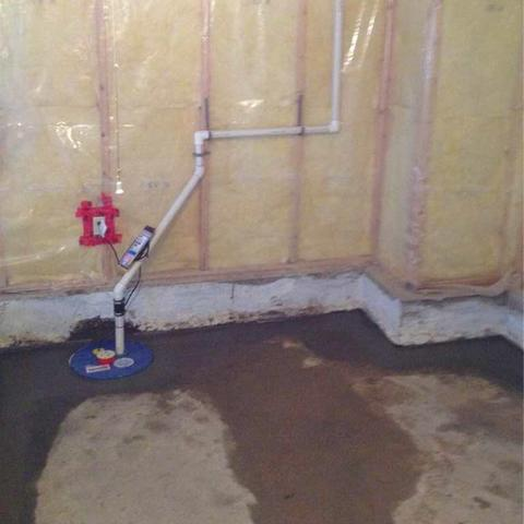 Drainage System and Sump Pump Upgrade in Brooks, AB