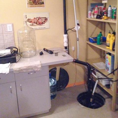 Upgrading a Sump Pump System in Chestermere, AB