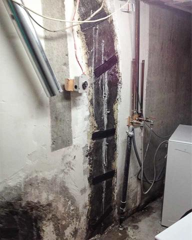 Repairing a Foundation Crack in Rocky View County, AB