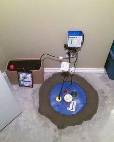 Upgrading a Sump Pump System in Coaldale, AB