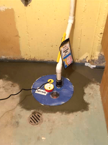 Sump Pump System Upgrade in Lethbridge, AB - After Photo
