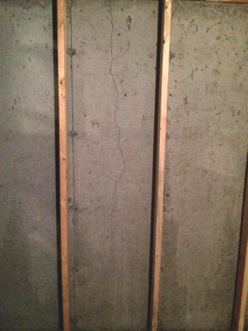 Fixing a Leaking Crack in NE Calgary, AB