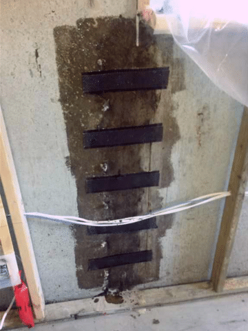 Repairing a Crack of a Basement Wall in Carstairs, AB - After Photo
