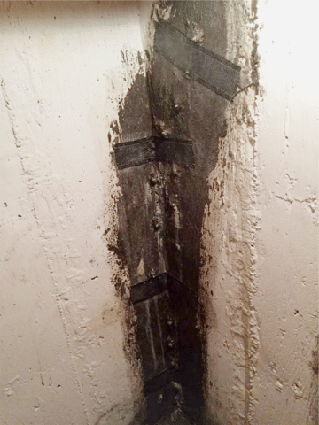 Foundation Injection to Repair a Leaking Crack in SW Calgary, AB - After Photo