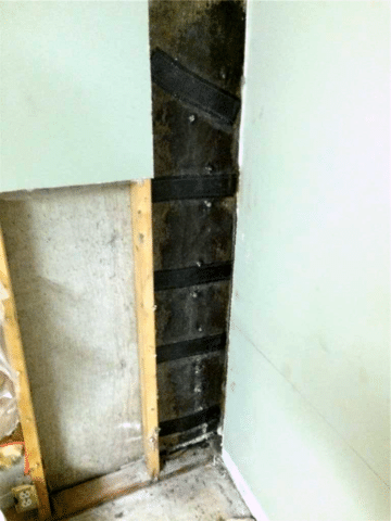 Crack Found in Foundation Wall that was Repaired in Southeast Calgary, AB