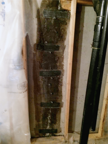 Floor to Ceiling Cracks Repair in NE Calgary, AB - After Photo