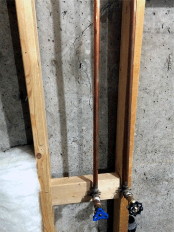 Crack in Foundation Found and Repaired in NW Calgary, AB