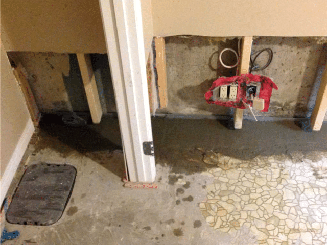 Installing WaterGuard® to Direct Excess Water to the Sump System in NW Calgary, AB