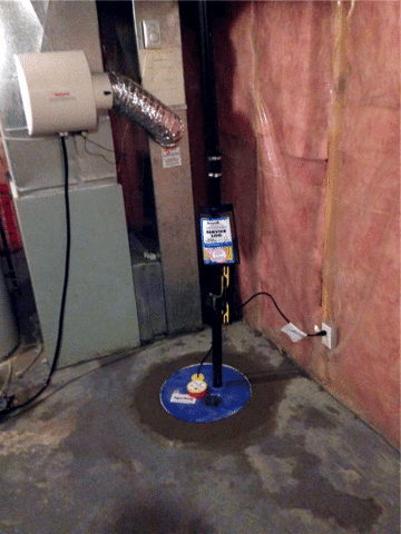 Existing Sump Pump Replacement in Chestermere, AB
