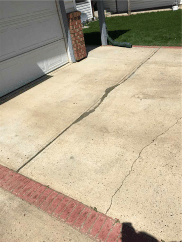 Driveway in Need of a Repair in Stettler, AB