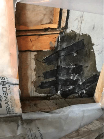 Crack Found in Foundation Wall Needed to be Repaired in Cochrane, AB