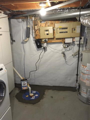 Home in Need of a Waterproofing System in NW Calgary, AB