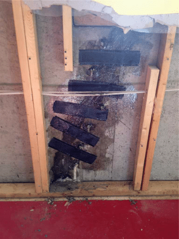 Crack in Need of Immediate Repair in Nanton, AB