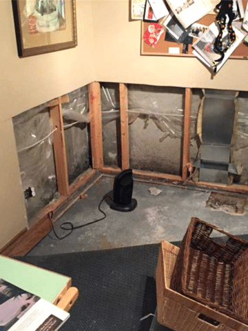 Sump System Installed within a Home in NW Calgary, AB