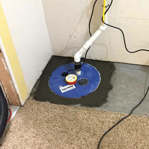 Homeowner's Basement Floods When it Rains in NW Calgary, AB