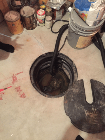 Existing Sump System to be Replaced in Langdon, AB