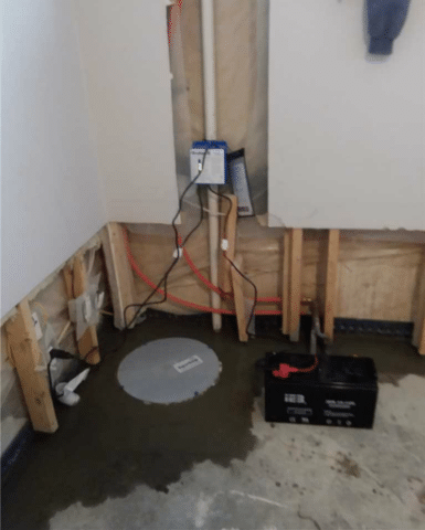 SuperSump Pump Installation Takes Care of Water Issues in SW Calgary, AB