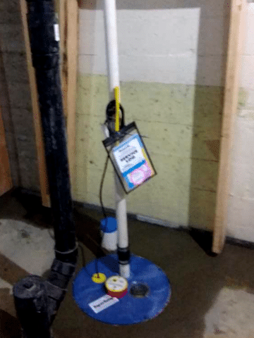 Water Leak Taken Care of With New Sump Pump Installed in SW Calgary, AB