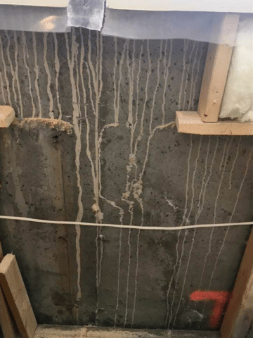 Crack Repaired before Homeowners Take Holidays in Heritage Pointe, AB