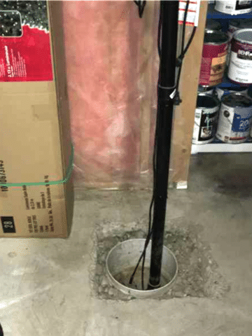 Existing Sump Upgraded with New SuperSump in SE Calgary, AB