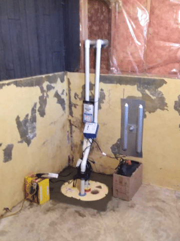 Homeowner Protects Basement From Water With TripleSafe System in Welling, AB