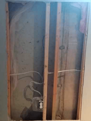 Common Crack in Foundation Repaired in Drumheller, AB