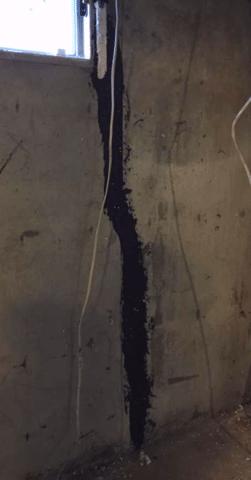 Foundation Crack Repair in NE Calgary, AB