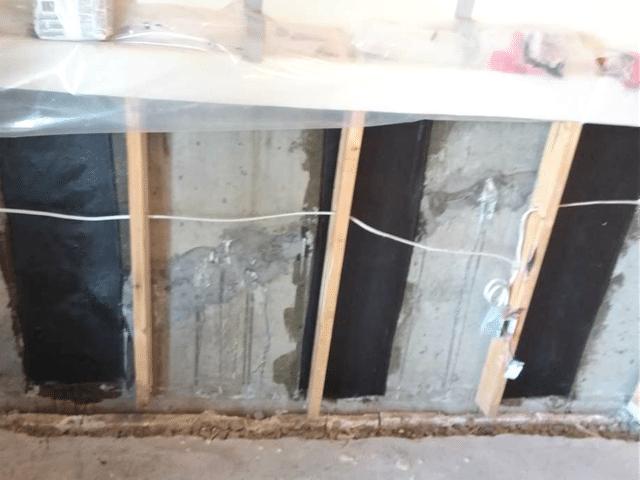 Multiple Foundation Cracks Repaired in Drumheller, AB