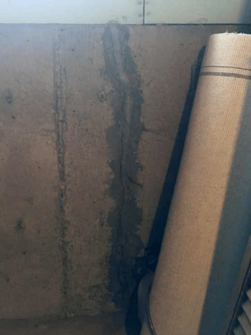 Crack Repaired in a Home in NW, Calgary AB
