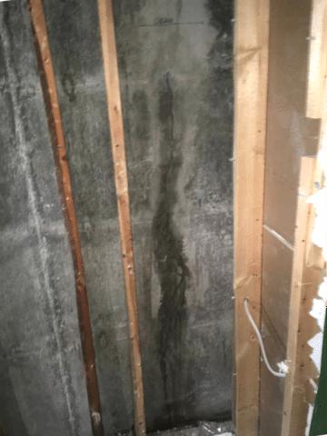 Foundation Crack Repaired in NE Calgary, AB