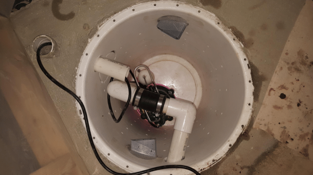 Sump Pump Service Performed in SW Calgary, AB