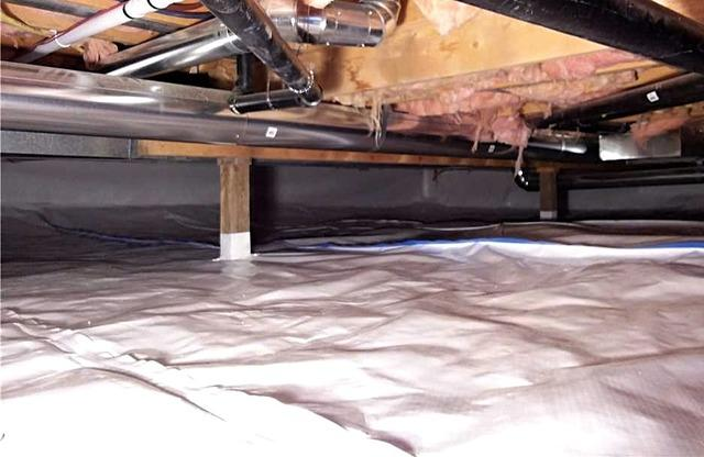 Crawlspace Dampness and Odors Repaired in Medicine Hat, AB