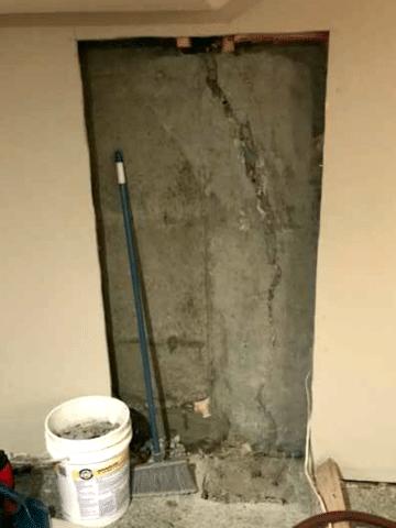 Sealed Crack in NW Calgary, AB