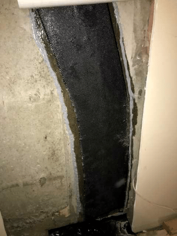 Sealed Crack in NW Calgary, AB