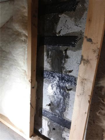Foundation Crack Repaired in Lethbridge, AB