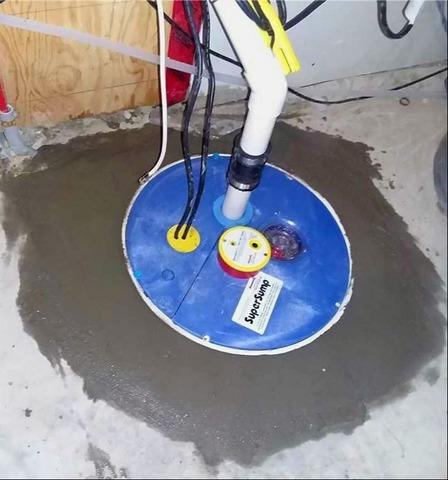 Upgraded Sump Pump System in Calgary, AB