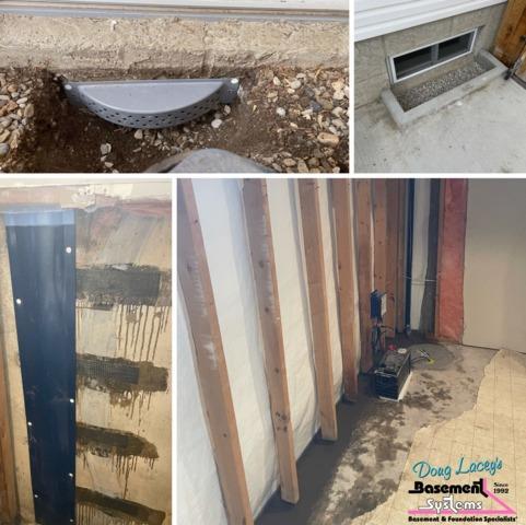 Crack Repair & Waterproofing in NW Calgary, AB