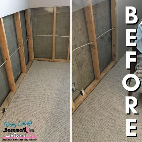 Leaky Townhome Basement in Red Deer, AB