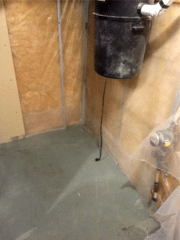 Installation of a SuperSump® System in SW Calgary, AB