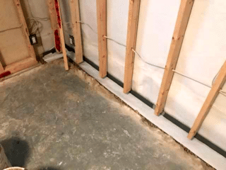 Tying Together our CleanSpace® and WaterGuard® System to the Homeowner's Existing Sump System in SW Calgary, AB