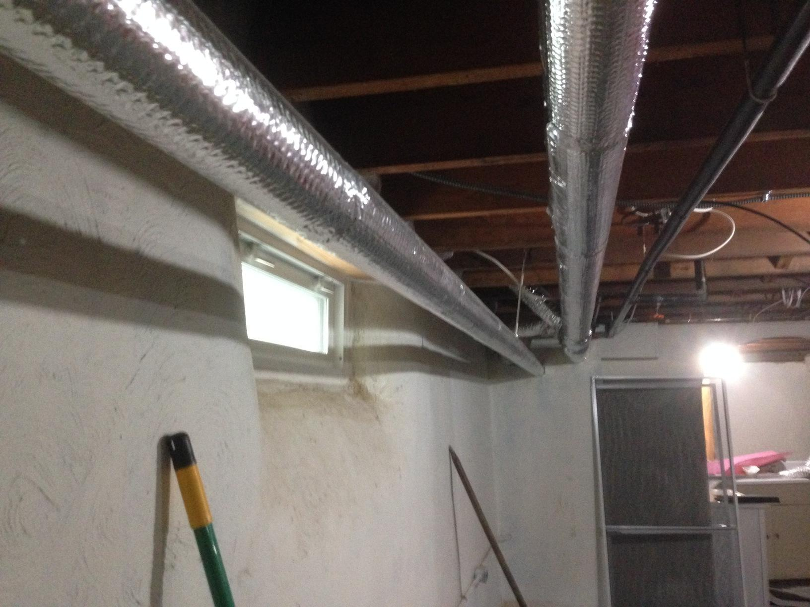 Cost Effective Solution to Finishing Off Your Basement - Before Photo