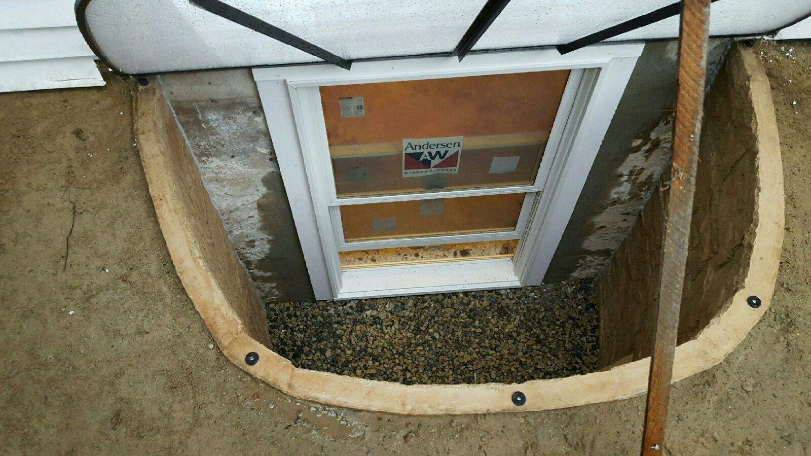 Egress Window Installation in Reading, MA - After Photo