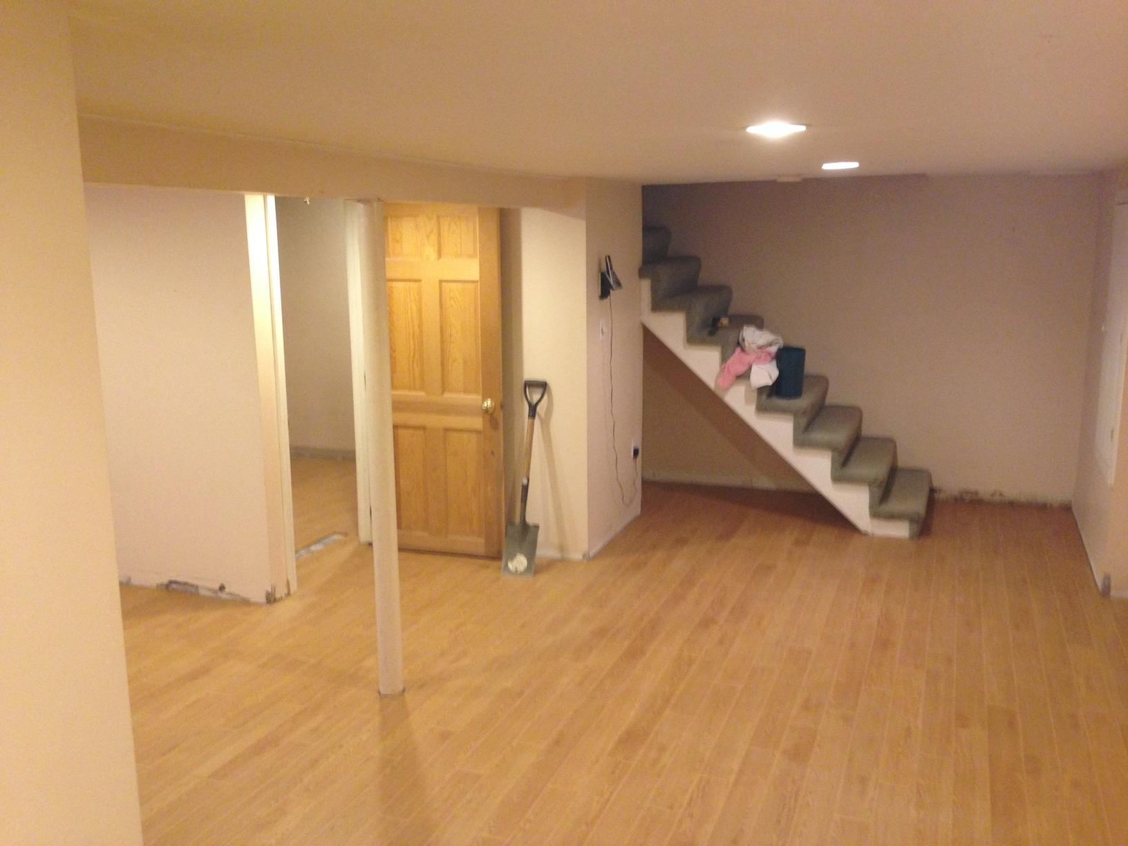 Basement Fishing in Marblehead, MA - After Photo