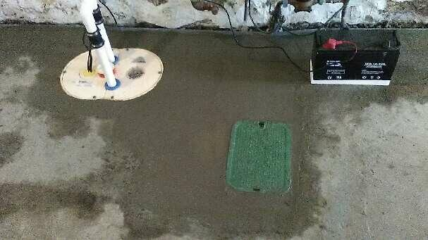 Somerville, MA WaterGuard and Sump Pump Installation - After Photo