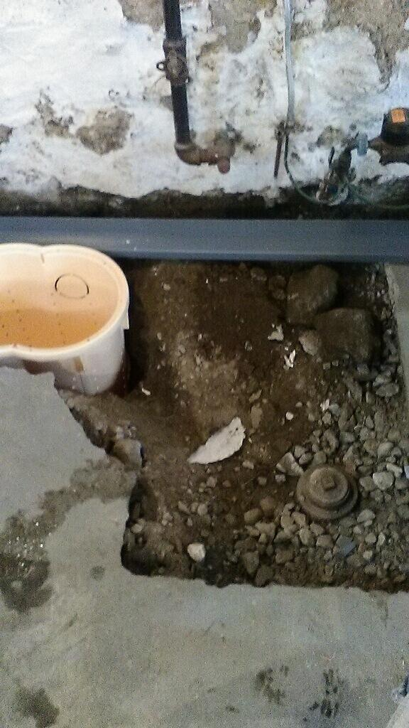 Somerville, MA WaterGuard and Sump Pump Installation - Before Photo