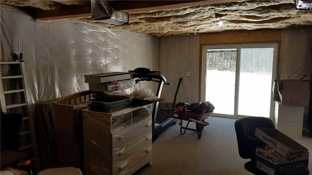 Basement Finishing in Merrimack, NH - Before Photo