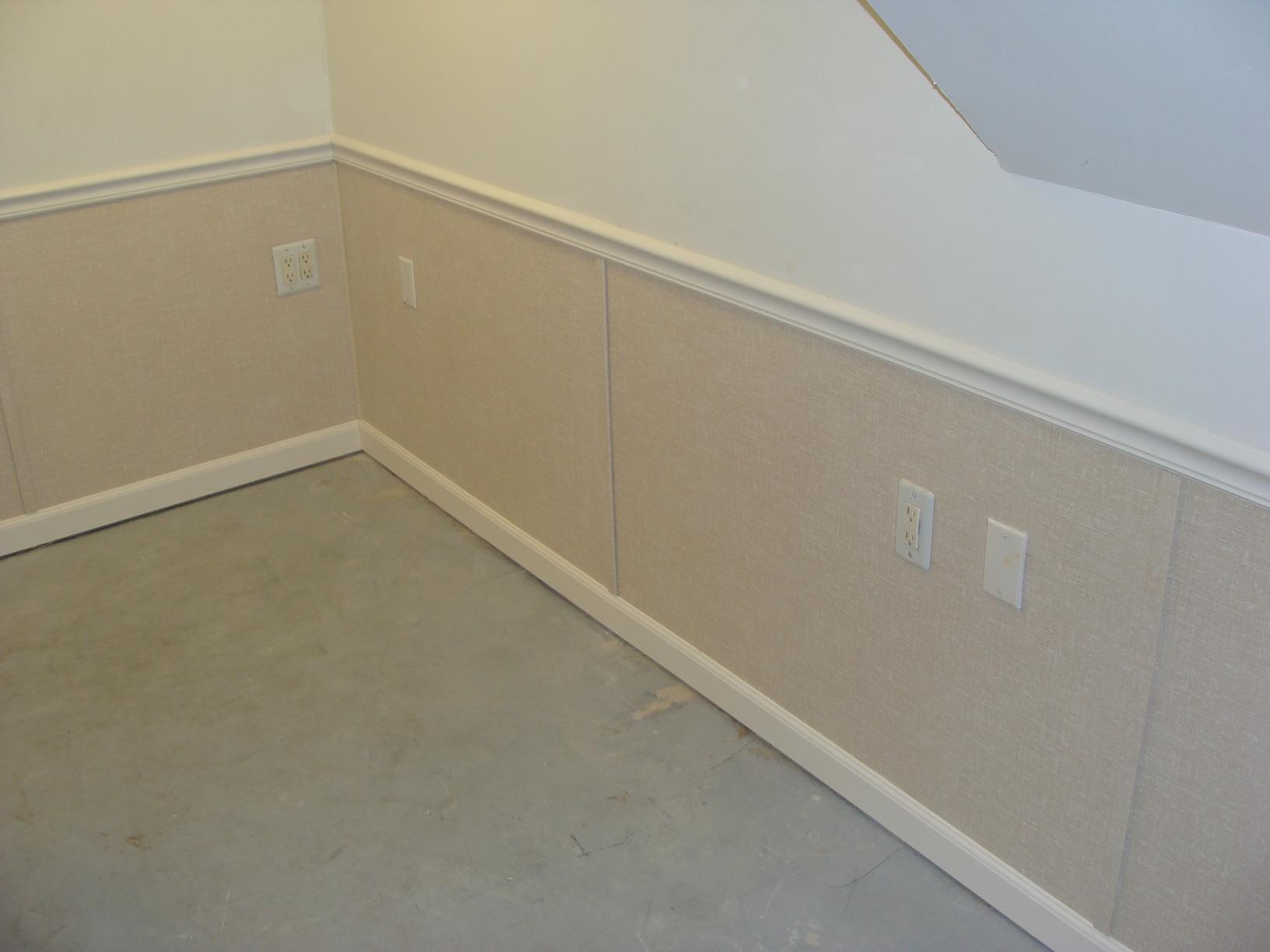 Basement Wall Restoration - After Photo