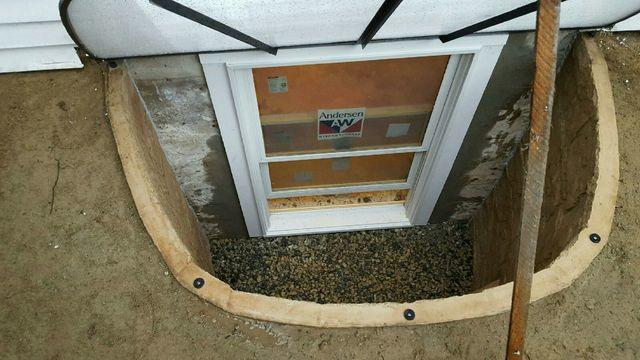 Egress Window Installation in Reading, MA