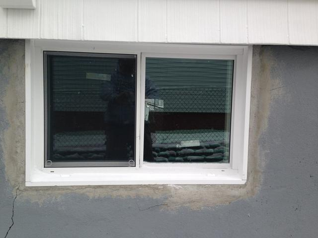 Everlast Basement Window Installed in Boston - After Photo